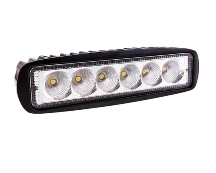 ARBEJDSLYGTE 6 LED1250 LM fjernyls