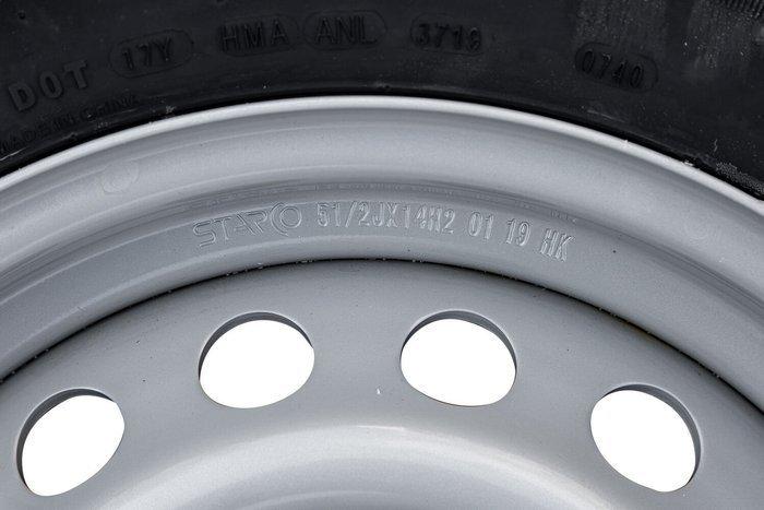 Komplet hjul 185 R14C 5x112 mm dæk Kenda